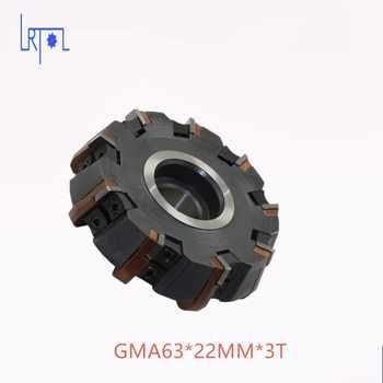 Livraison Gratuite DIa 63*22mm 75 degrés Fraise Outils Pour Inserts en carbure Convient Pour NC/CNC