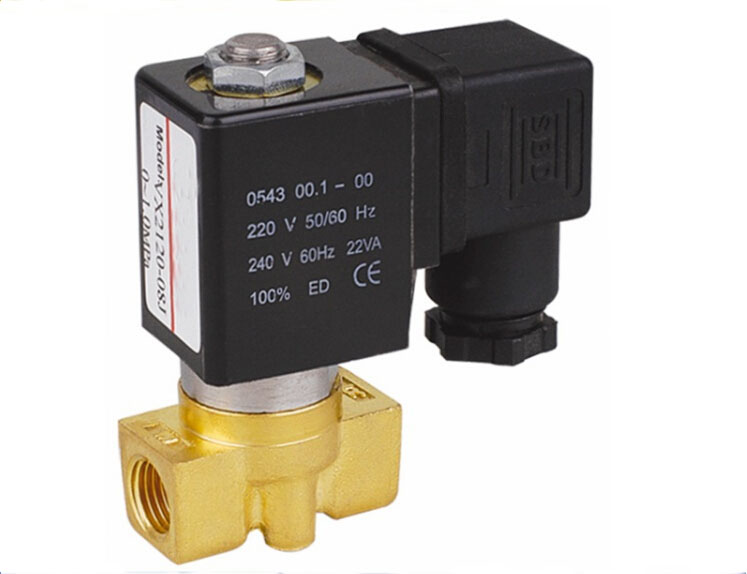 1/8 2/2 way air,water.steam,gas brass solenoid valve DC12V,DC24V,AC24V,AC110V,AC220V,AC380V 2w 025 06 2 way brass air gas water solenoid valve 1 8 bsp normal close dc12v dc24v ac110v ac220v