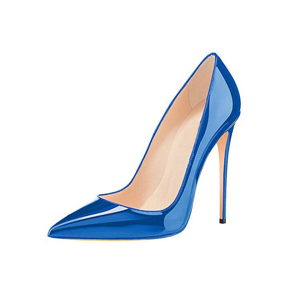 GENSHUO Gra Këpucë me takë të lartë Këpucë stiletto të larta - Këpucë për femra - Foto 2