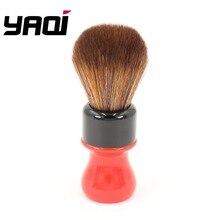Yaqi 24 مللي متر فيراري الخام معقدة النسخة السوداء أفضل جودة البني الاصطناعية الشعر فرشات الحلاقة