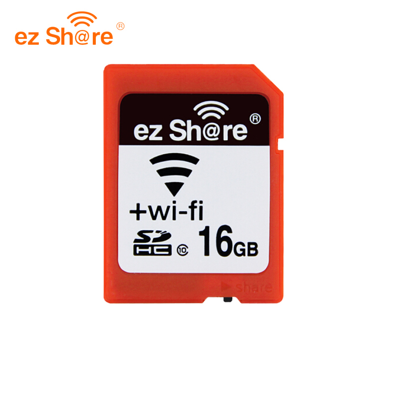 Original EZ Share Memory Sd Wifi 32gb 16G Wireless Share Card 4g 8g Class 10 64g 128g For Canon/nikon/sony Card Free Card Reade