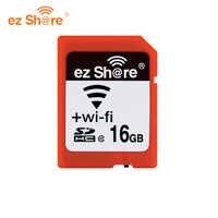 Original EZ teilen Speicher sd wifi 32 gb 16G wireless Teilen Karte 4g 8g Klasse 10 64g 128g für canon/nikon/sony karte reade