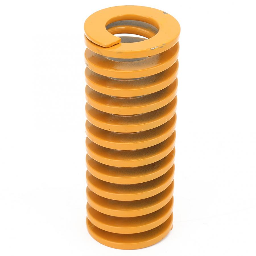 1Pcs High Accuracy Steel Yellow Mold Coil Spring For Stamping Metal Dies 50mm ompression spring tension spring druckfeder in Springs from Home Improvement