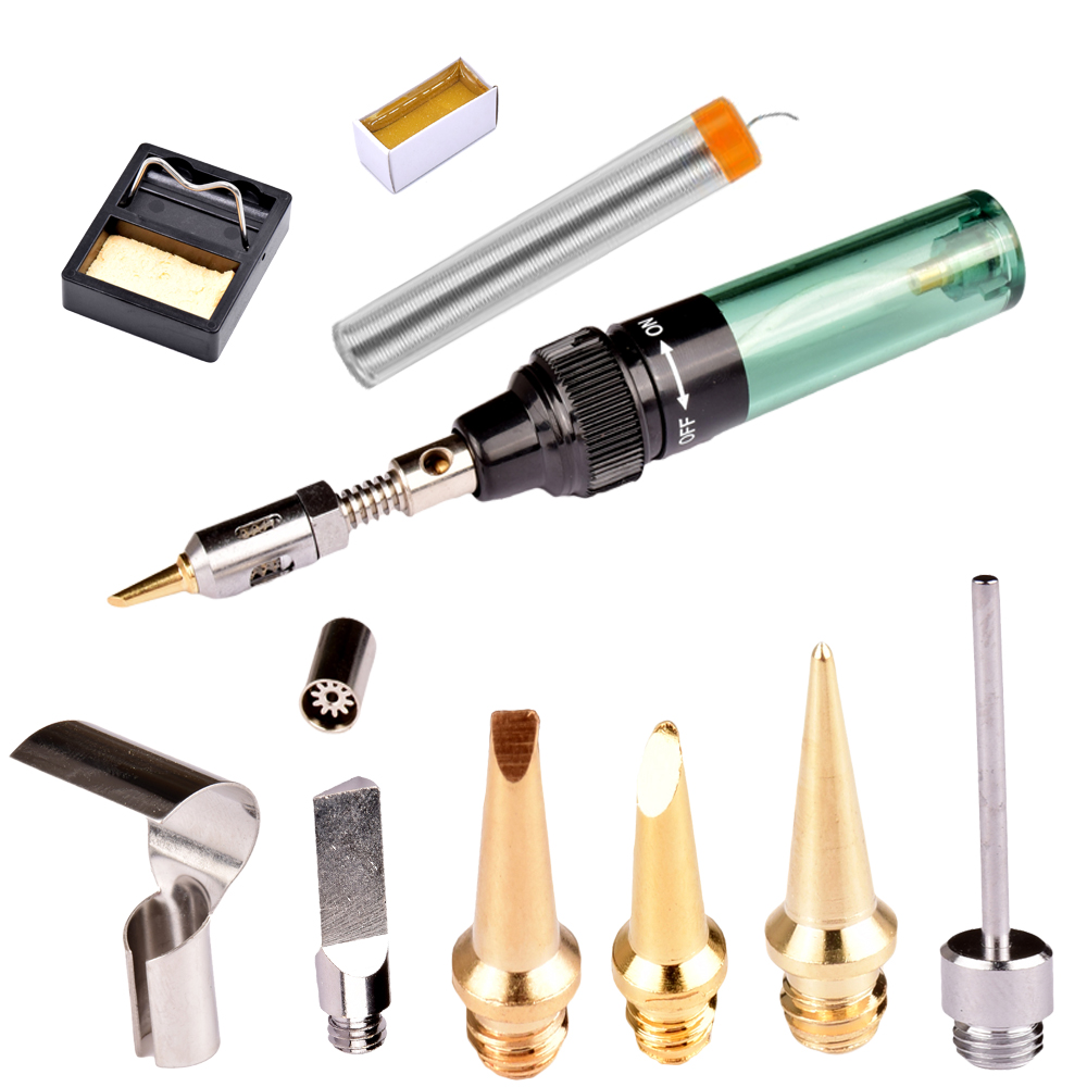 New Cordless Torch Soldering Iron MT-100 Butane Gas Soldring Iron Electric Soldering Iron Gun Blow Torch kit Free Shipping new packing cordless torch soldering iron mt 100 butane gas soldering iron pen free shipping