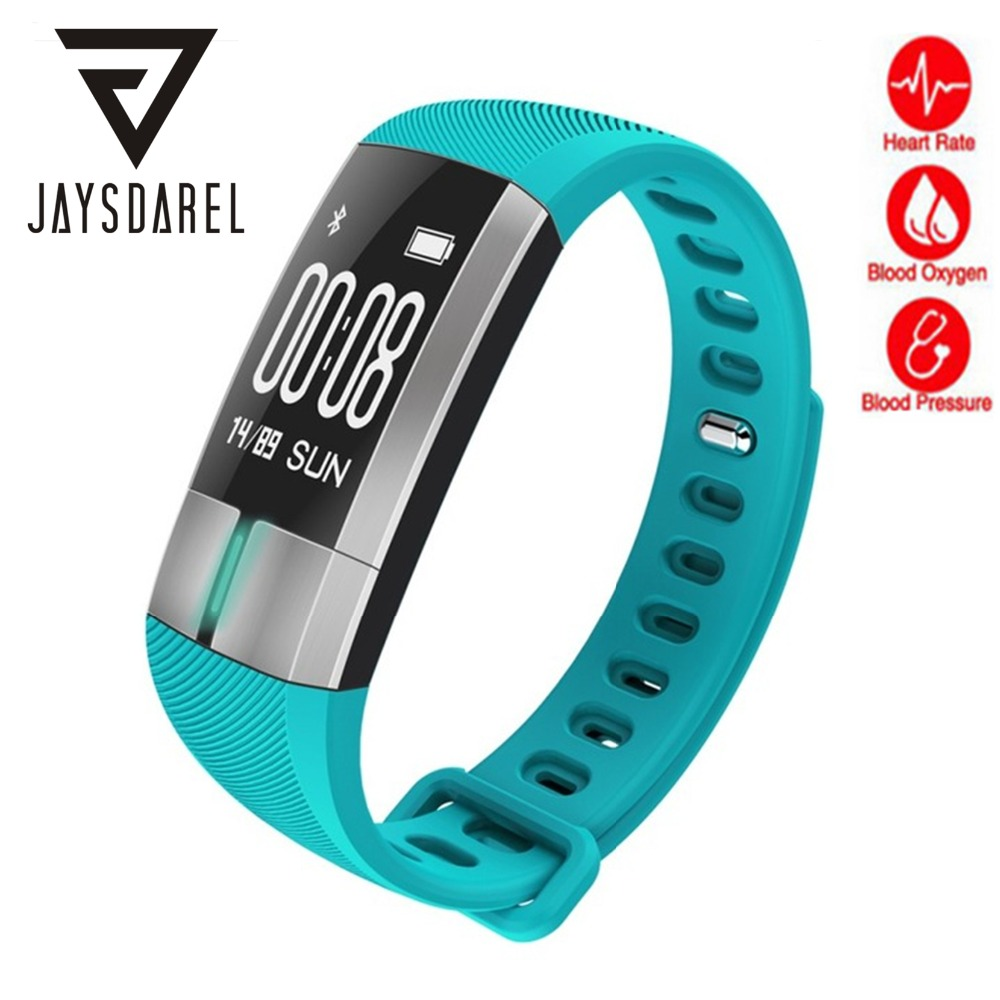 JAYSDAREL G20 Blood Pressure Heart Rate ECG Monitor Smart Watch OLED IP67 Smart Bracelet Fitness tracker for Android iOS jaysdarel heart rate blood pressure monitor smart watch no 1 gs8 sim card sms call bluetooth smart wristwatch for android ios
