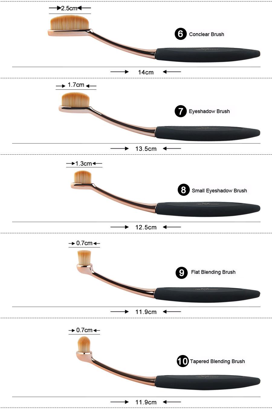 make up brushes 12