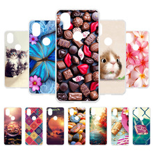 3D DIY Case For Wiko View 2 Silicone Covers Fundas View2 Coque Housings Hamster Painted Bags