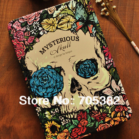 1PC Angel & Evial hardcover notebook,Notepad,vintage diary note book, planner journal paper notebook,Free shipping(SS-8525)