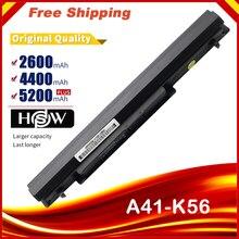 8 Cells battery For asus A46CB A56CB E46CB K46CB K56CB R405CB R505CB S405CB S40CB S46CB S505CB S56CB U58CB A46CM A56CM K46CM