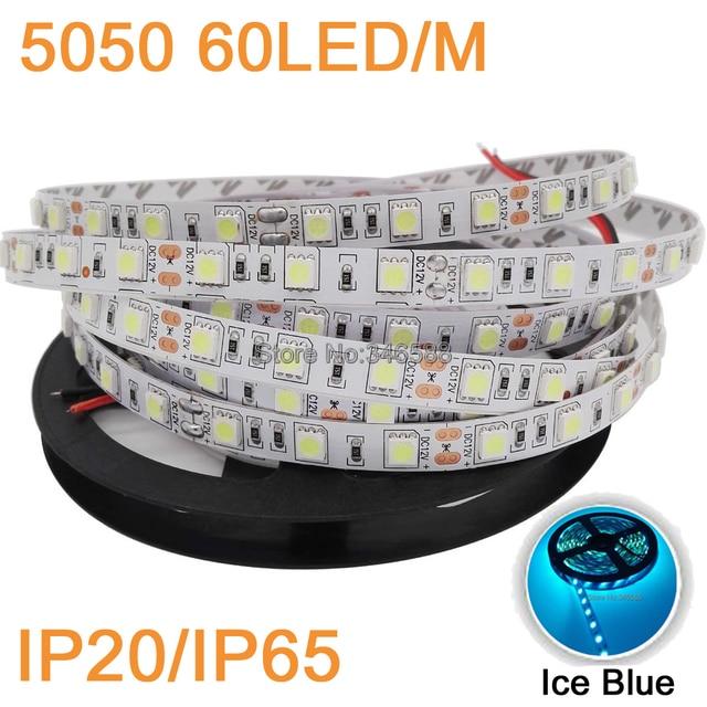 12 V 5 M 5050 SMD LED Verlichting Strip 60led/m IP65 Waterdicht of ...