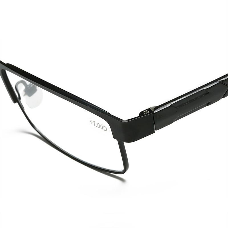 Top SaleHandoer Reading Glasses Titanium-Alloy Aspherical Coated-Lenses Hyperopia Retro Business