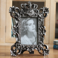 Hot Selling Newest 6 Inch 7 Inch 8 Inch Retro Photo Frame Elegant Home Furnishing Photo Frame Exquisite Classical Antique Box