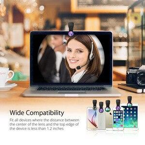 Image 3 - MFE4 Mpow 3 en 1 Kits de lentilles de téléphone portable clipsables objectif Fisheye 180 degrés + objectif grand Angle 0.36X + objectif Macro 20X 3 objectifs séparés