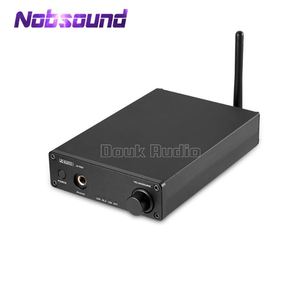 Nobsound Salut-fin Mini AK4490 Audio Décodeur DAC USB Optique Coaxial CSR8670 Bluetooth 5.0 Salut-fi Casque Amplificateur
