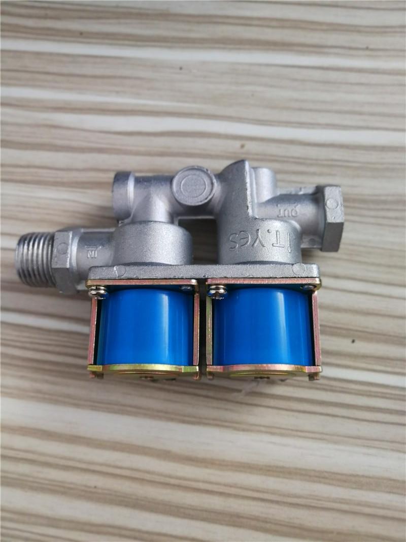KG11-25A5 KG11-25A1 Gas double solenoid valve/Oven solenoid valve taiwan chelic double coil solenoid valve double head solenoid valve sv 5231 ac220v sv5231