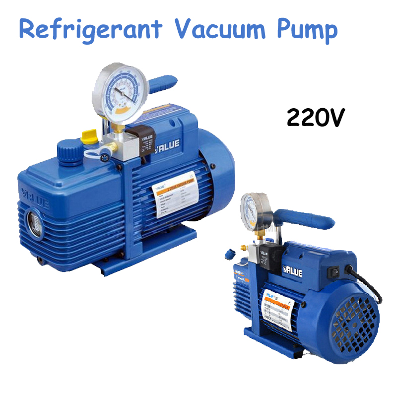 220V New Refrigerant Vacuum Pump Suitable for R410a,R407C,R134a,R12,R22 Refrigerate V-i120SV long wavy 613 tip blonde synthetic front lace wig natural