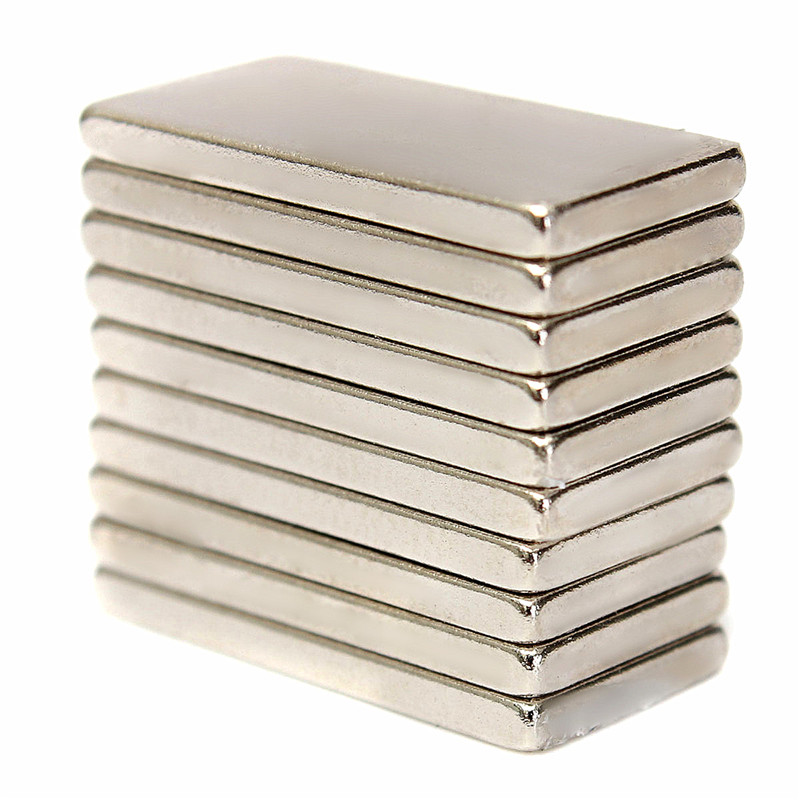 20 x 10 x 2mm 10pcs N52 Super Rectangle Strong Rare Earth Rare Earth Neodymium Magnets NdFeB Magnetic Materials Watch Your Hand earth 2 society vol 4 life after death