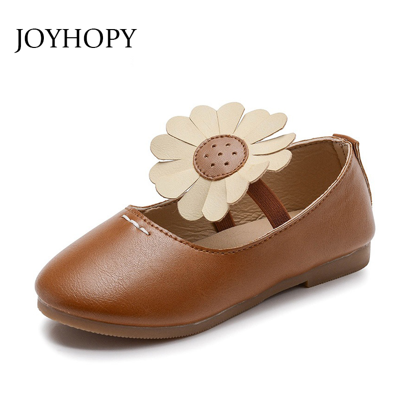 2018 Autumn Cute Flower Baby Shoes Comfort Girls Sandals Little Kids Shoes Casual Shoes Size 21-30