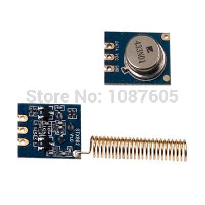 10pcs/lot ASK RF Module 433mhz Transmitter Module