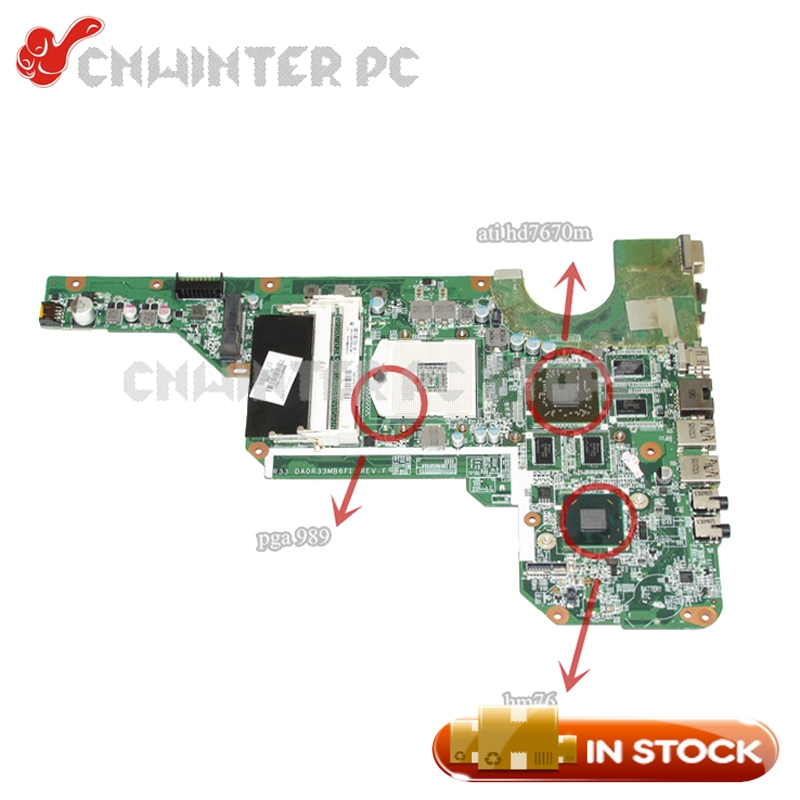 цена на NOKOTION 680569-501 680569-001 680570-001 680570-501 For Hp pavilion g4 g4-2000 g6 g6-2000 g7 g7-2000 Laptop Motherboard HD7670M
