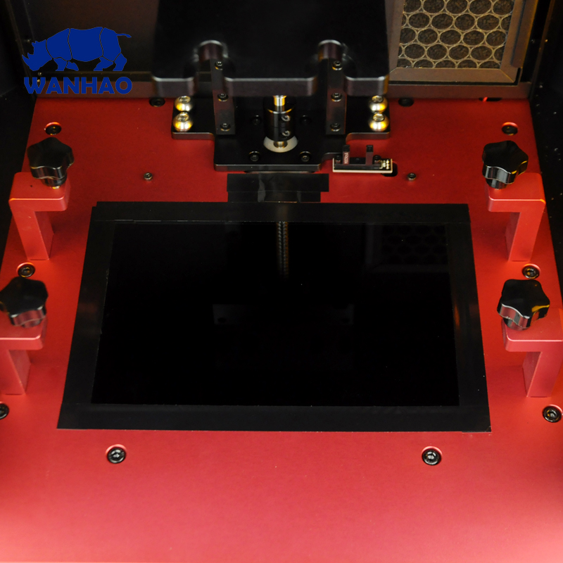 WANHAO Factory Direct Sales 3D Printer D8 DLP LCD Jewelry Dental Color Touch Screen 405nm UV Resin H