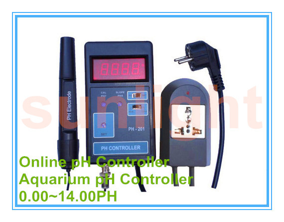 Aquarium On line pH Controller with 3.50~10.50PH Controlling Range-in PH Meters from Tools    1