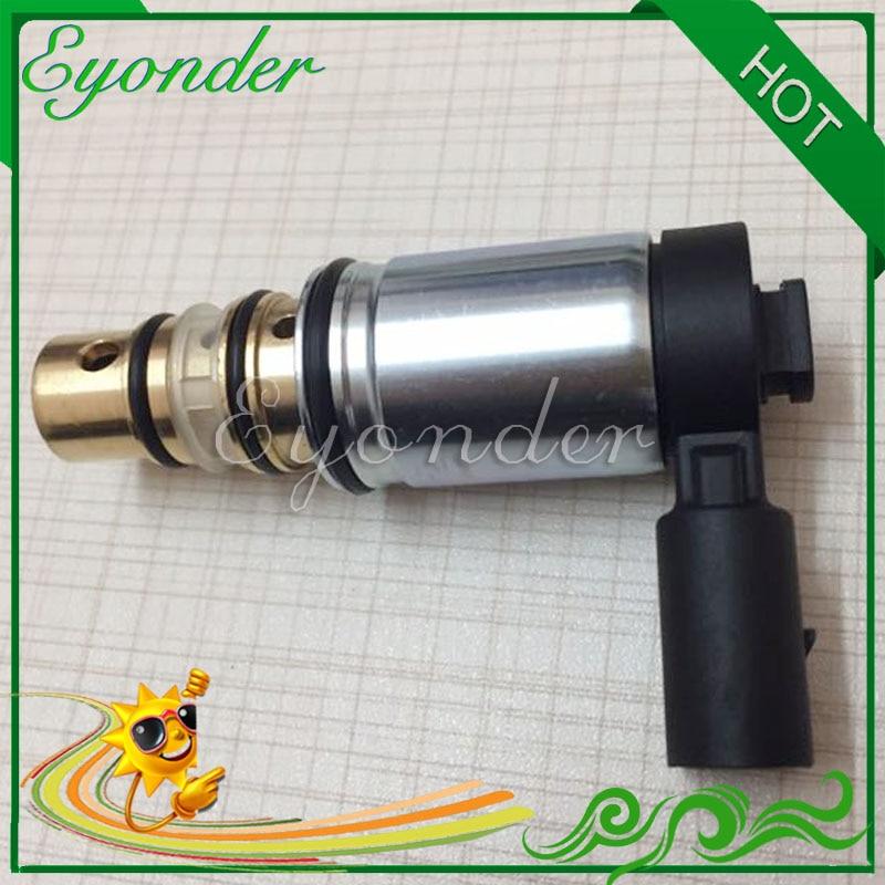 A/C Air Conditioning Compressor Electronic Solenoid Control Valve Sensor Plug for VOLKSWAGEN GOLF V GOLF VI JETTA III PASSAT B6