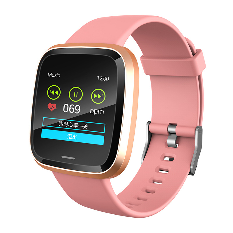 Smart Watch IT116 Waterproof Sports Multi-Function Smart Wristband Support APP Step Counter Weather Information image