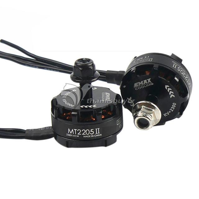MT2205 II Edição de Corrida 2300KV Brushless EMAX Do Motor CW/CCW para FPV Multicopter