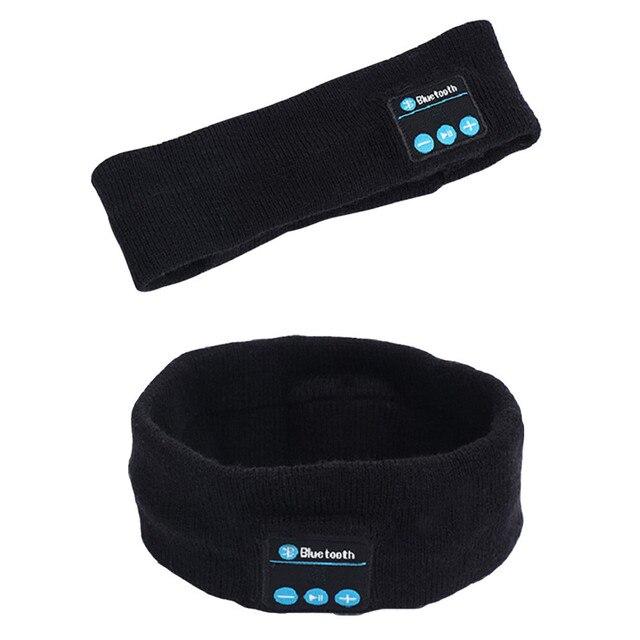 Wireless Bluetooth Headband Outdoor Fitness Music Headband Knitted Handfree Call
