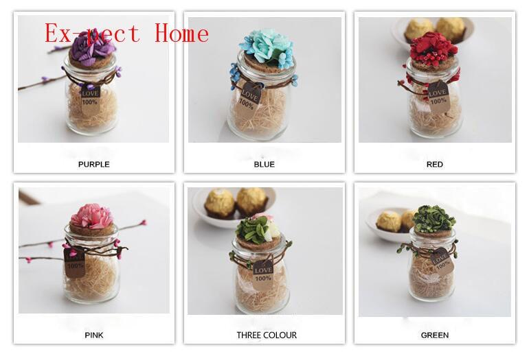 Glas Hochzeit Bevorzugt Süßigkeit Boxen Wishing Flasche Klare Transparente Glas Quadratischen Speicher Flasche Castor Und Candy Flasche Geröll