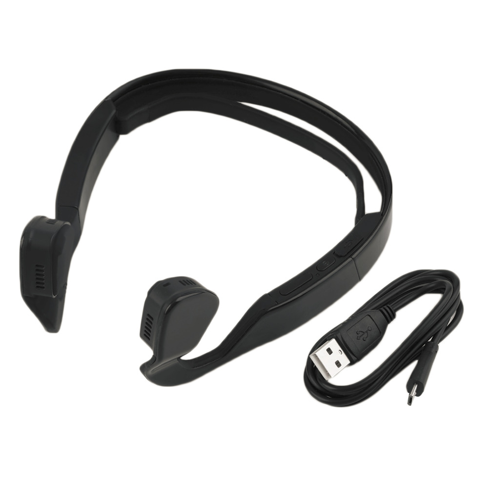 buy 2017 wireless bone conduction bluetooth 4 0 wireless stereo headset sports. Black Bedroom Furniture Sets. Home Design Ideas