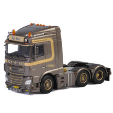 Изысканный сплав модель WSI 1:50 Масштаб DAF XF MY2017 6x2 грузовик трактор транспортных средств литье под давлением игрушка подарок, коллекция, украшения