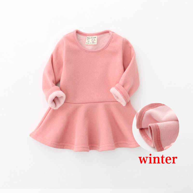5ec2286a9aad Baby Clothing Winter Dress Infant 1 Year Birthday Clothes Bebes ...