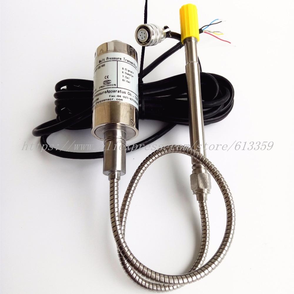 ZHYQ PT124B-121 Flexible Stem Melt Pressure Transmitter Pressure Sensors  Output 4-20mAZHYQ PT124B-121 Flexible Stem Melt Pressure Transmitter Pressure Sensors  Output 4-20mA