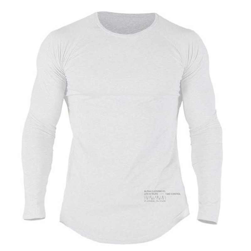 manga camisas ginásios fitness musculação treino retalhos