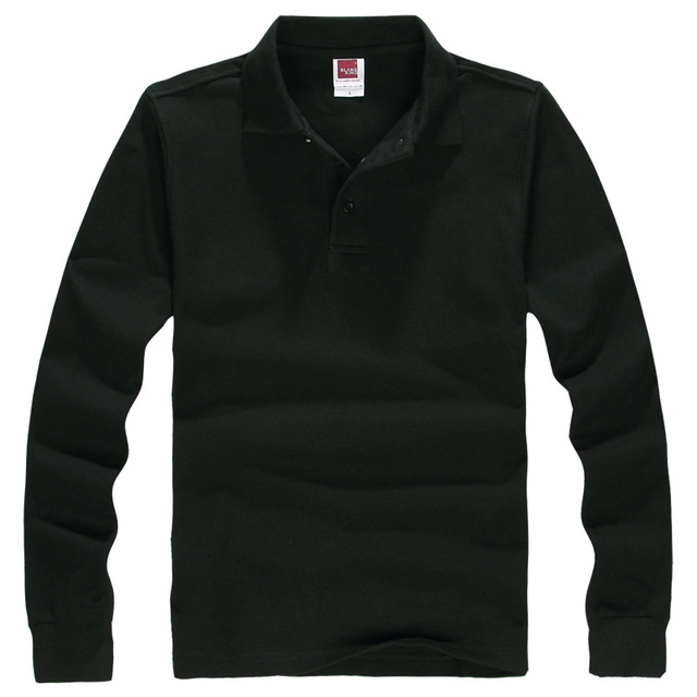 Classic men's Long-sleeved POLO shirt fashion Casual polo shirt POLO shirt lapel Brand Clothing high-quality shirt S-3XL