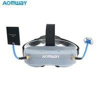 Aomway Commander Goggles V1 2D 3D 40CH 5.8G FPV Video Headset Ondersteuning HDMI DVR Headtracker