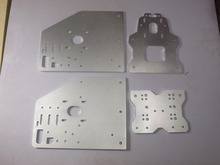 3d printer parts OX CNC machine parts OX X Axis Front Plate+OX_Y_Gantry_Plate6mm+OX Back X Axis Plate motor plate
