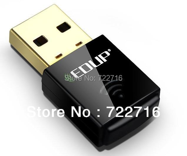 Free shipping EDUP EP-N1557 300Mbps Wireless WiFi USB Network 802.11n/g/b LAN Adapter Card for Raspberry Pi 2 model B