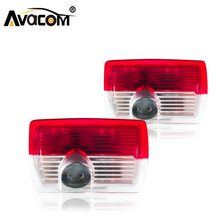 Avacom 2pcs LED Car Welcome Door Light 12V Ghost Shadow Projector Logo Light For Mercedes Benz W166 W212 W246 W176 W205 X164(China)