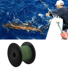 (Ship From US) 18 Stands Weaves Fish Rope PE Braided Fishing Line 65LB 137M Multifilament Fishline For Lake River Angling