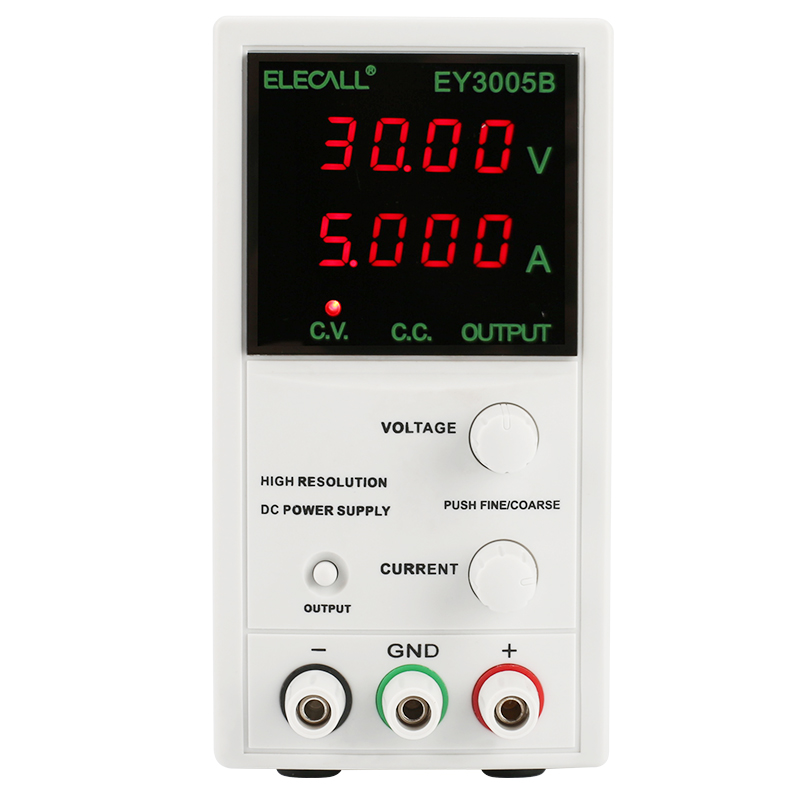 High Resolution Digital DC power supply Voltage regulators Power regulation Adjustable EY3005B 30V 5AHigh Resolution Digital DC power supply Voltage regulators Power regulation Adjustable EY3005B 30V 5A