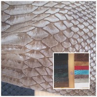 NEW High Quality Crocodile Grain Toughness Faux Leather Fabric PVC Synthetic Leather 14 Color Textile Fabric