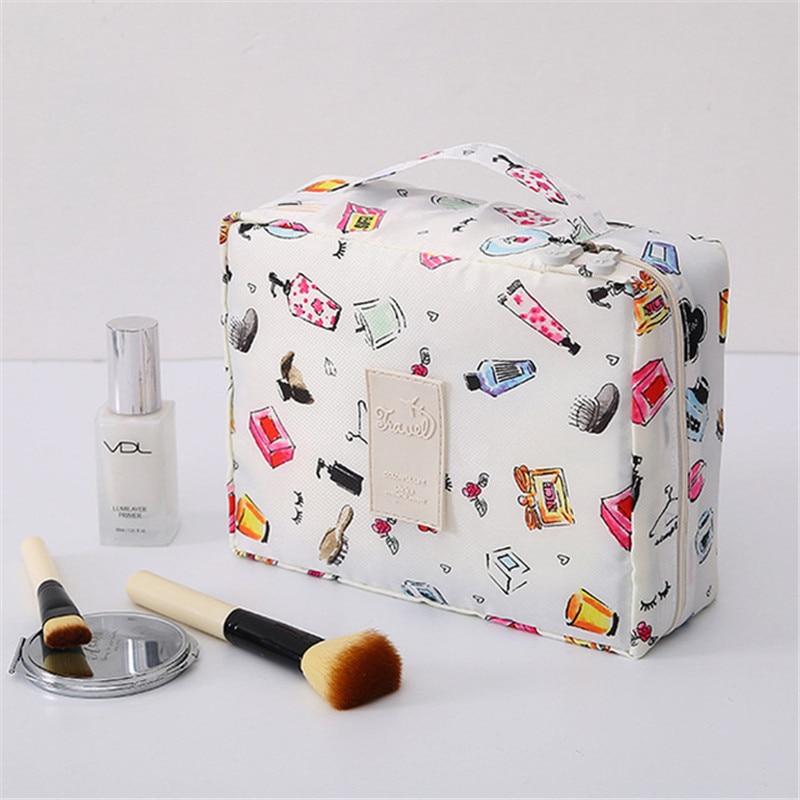 Travel-Cosmetic-Bag Toiletries Multi-Function Convenient Waterproof Large-Capacity Ladies
