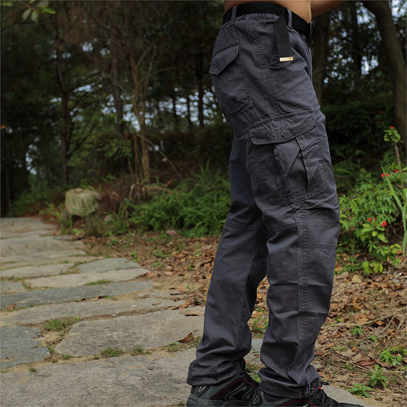 Outdoor Leisure anti UV Sports camping font b Hunting b font Pants men s multi pocket