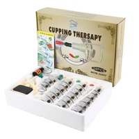 24cup Set Big Cans New Brand High Quality Chinese Vacuum Cupping Kit Healthy Traditional Hijama Cupping
