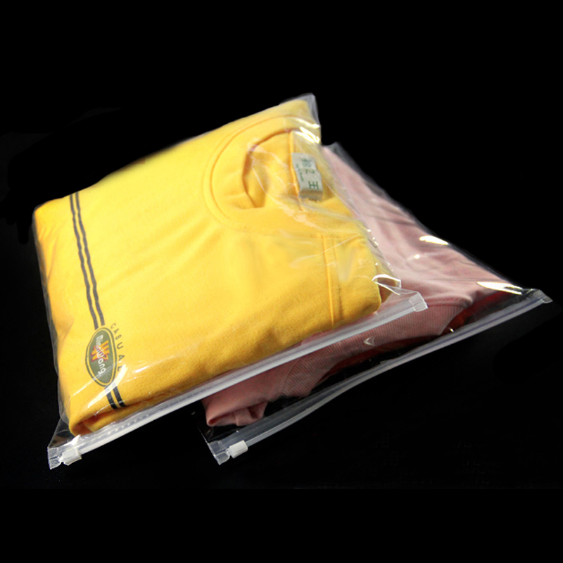 Zip Lock Plastic Bags Clothes Packaging 20pcs 30x40cm