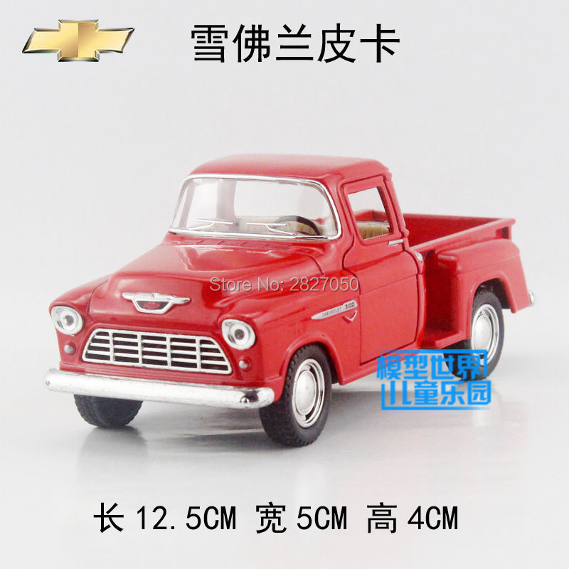 Classic 1:32 Chevrolet 1955 Pickup Truck Model Cars Alloy Diecast Model Toy Car