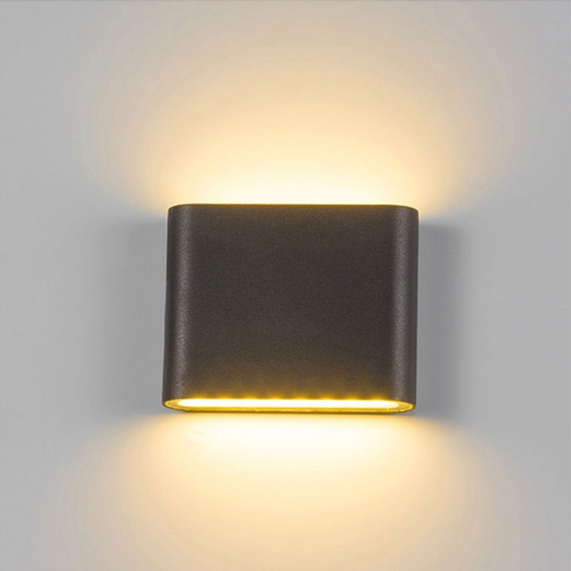 Image 3 - LED Outdoor Wall Lamp 6W 12W Porch Light Sconce Corridor Decoration Lamp Waterproof Garden Path Landscape Lighting 110V 220V-in LED Outdoor Wall Lamps from Lights & Lighting